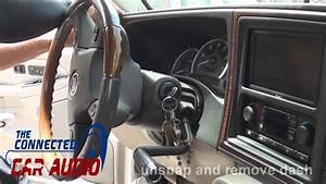 How To Remove Factory Stereo Chevy Avalanche 2003