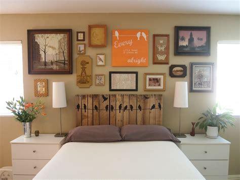 tableau deco chambre adulte des idées diy pour réutiliser une palette en bois