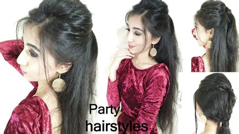 quick  easy party hairstyles long hair