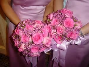 pink wedding flowers - Pink Wedding Flowers