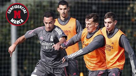 Real Madrid training only with players who have recovered ...