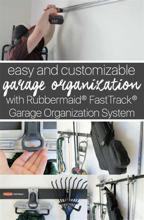 Garage Organization Fast Track by Rubbermaid 174 Fasttrack 174 Garage Organization System