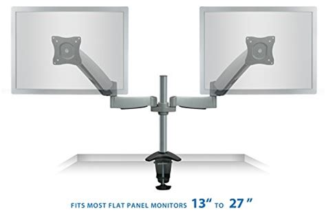 Desk Mount Monitor Arm Malaysia by Mount It Monitor Desk Mount Dual Arm With Height