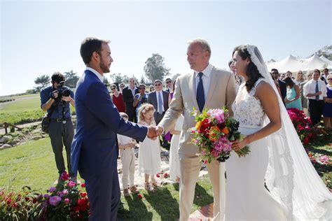 kevin costners oldest daughter marries  santa barbara