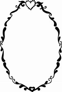 10 Romantic Oval Frame Vector SVG PNG Transparent