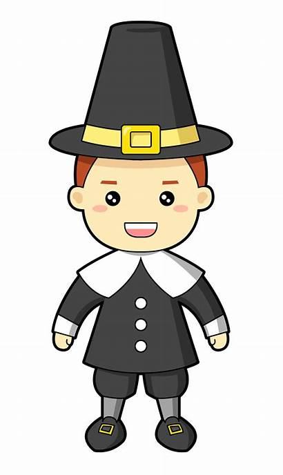 Pilgrim Clipart Pilgrims Cartoon Lord Animated Clip