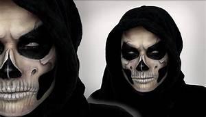 Grim Reaper Makeup Tutorial For Halloween   Shonagh Scott ...
