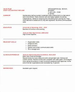 Sample Staff Accountant Resume 9 Examples in Word PDF