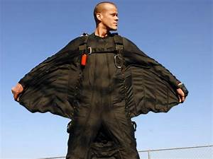 A wingsuit diver died in the Swiss Alps earlier this week ...