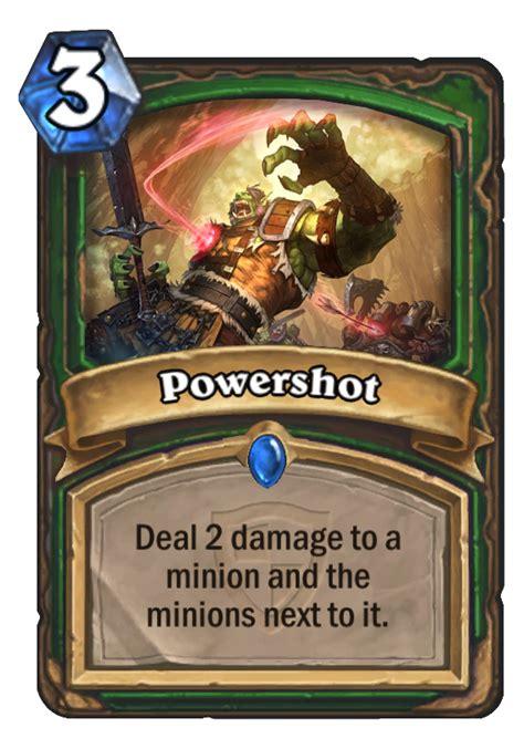 powershot hearthstone card