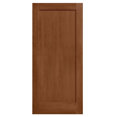 doors interior home depot jeld wen 36 in x 80 in stained espresso 2 panel solid