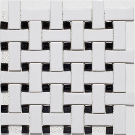 black and white floor tile white mosaic floor tile laurensthoughts