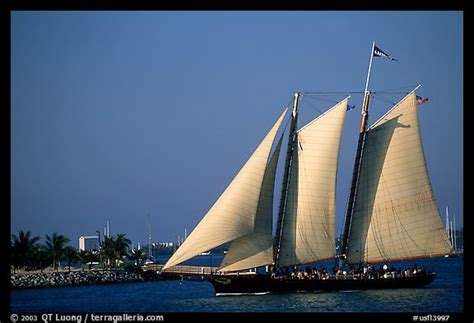 Key West Sailboat by Picture Photo Historic Sailboat Key West Florida Usa