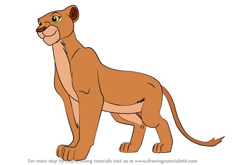 learn   draw nala   lion king  lion king step  step drawing tutorials