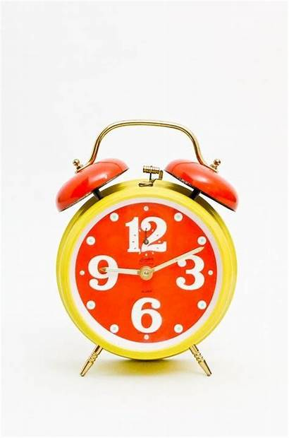 Clock German Alarm Sharesomecandy Orange Visual Perfect