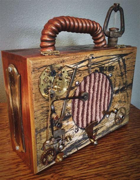 steunk cigar box guitar designed and built by tom thompson primitive acoustics
