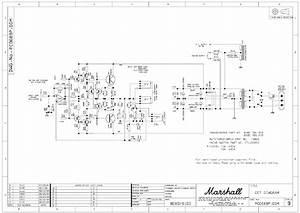 Marshall 8080 8100 Valvestate Pc0689 Sch Service Manual