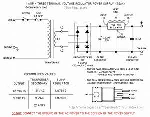 Fixed Voltage Regulators 5 Or 12 Volt Supply