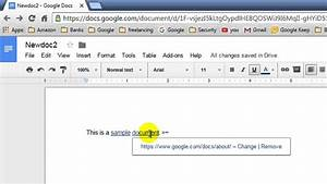 how to remove a link in document in google docs youtube With google docs pdf link
