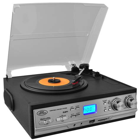Da Cassetta A Cd by Pyle Pttcs9u Classic Retro Turntable With Am