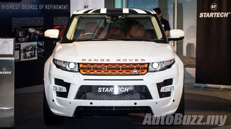 startech shows  original accessories  range rover