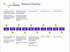 Project timeline with milestones Office Templates