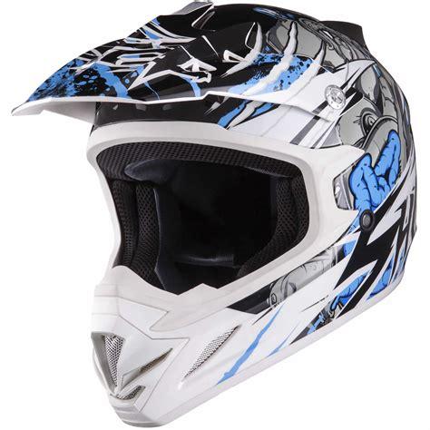 white motocross helmet shox mx 1 scream white blue motocross helmet enduro