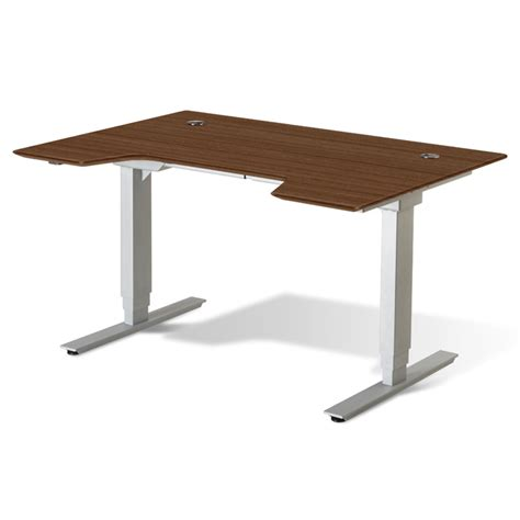 height adjustable sit stand desk sit stand adjustable height desk walnut gotofurniture