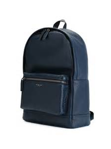 Blue Michael Kors Backpack