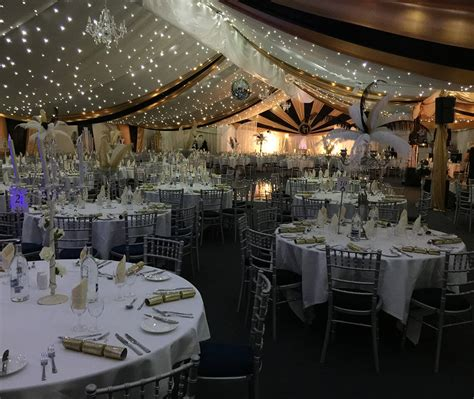 christmas party furniture table centres  hire