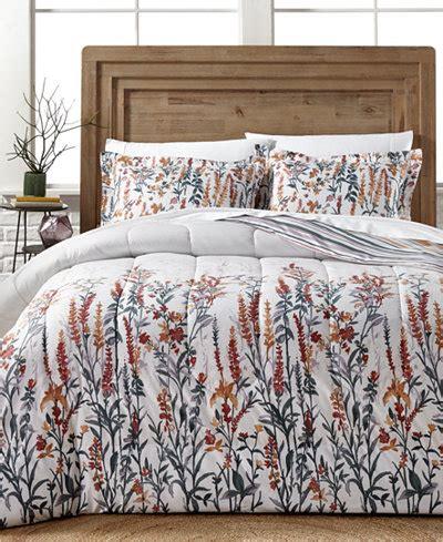 senna 3 pc reversible full queen comforter set bed in a