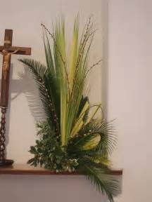 Palm Sunday Altar Arrangement