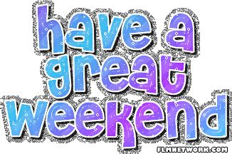 Happy Friday and Weekend Free Clip Art