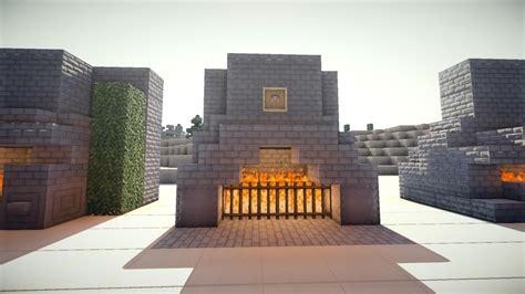 Fireplace Designs Minecraft minecraft fireplace designs