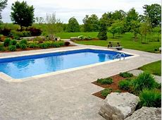 Swimming Pool Landscape Designs Swimming Pool And