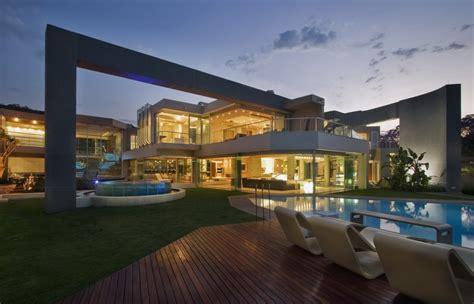 A 27,000 Square Foot Modern Mega Mansion In