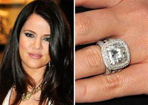 khloe engagement ring 25 most expensive engagement rings
