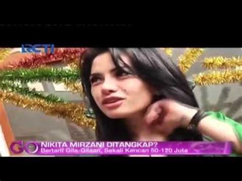 Protitusi Artis Nikita Mirzani Ditangkap Youtube