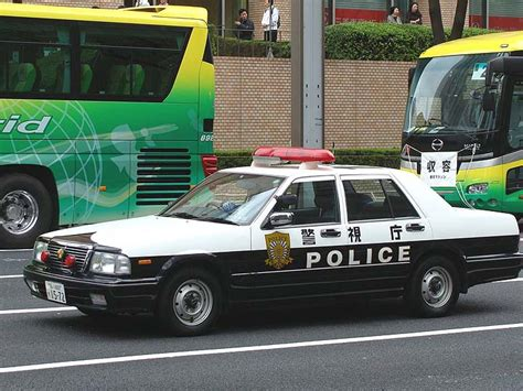 Looking For The Japanese Toyota Crown Police Car