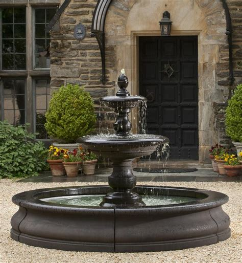 large outdoor fountains  shipping   big water