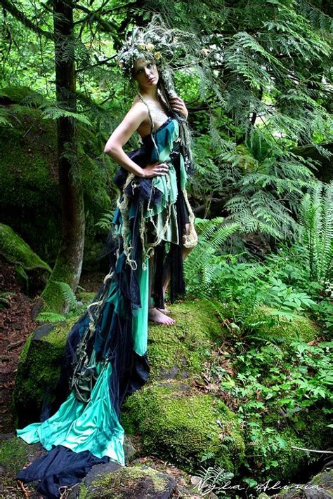custom  tattered fairy goth goddess nymph