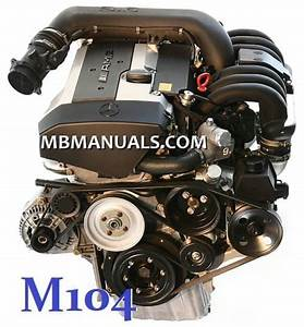 Mercedes Benz M104 Engine Service Repair Manual