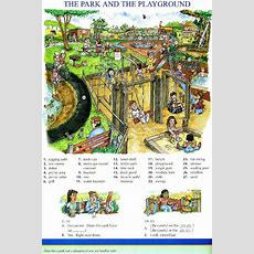 96  The Park And The Playground  Picture Dictionary  English Study, Explanations, Free