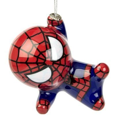 spider man ornament cj tis  season christmas