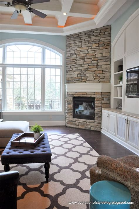living room setup with fireplace diy fireplace reveal for real evolution of style