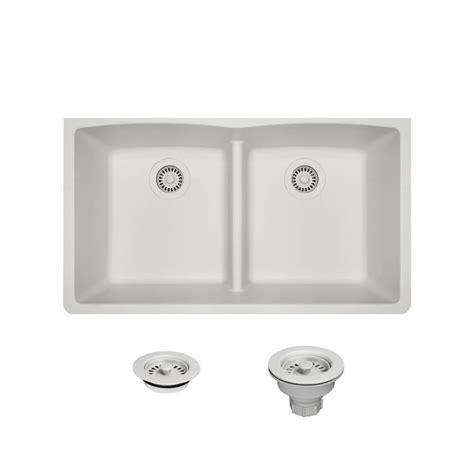 kitchen sinks direct mr direct all in one undermount kitchen sink composite 3004