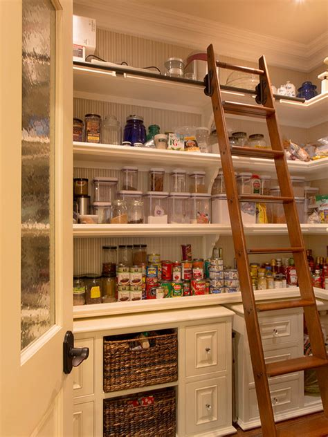 a look at some walk in pantries from houzz com homes of