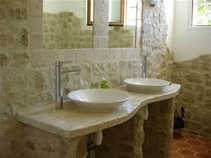 quelles pierres de parement choisir pour sa deco d39interieur With pierre naturelle salle de bain