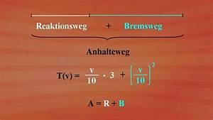 Anhalteweg Berechnen Physik : terme und termumformungen bremsweg berechnung grundkurs mathematik ard alpha fernsehen ~ Themetempest.com Abrechnung