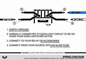 Toyota Fortuner Push Button Switch Diagram
